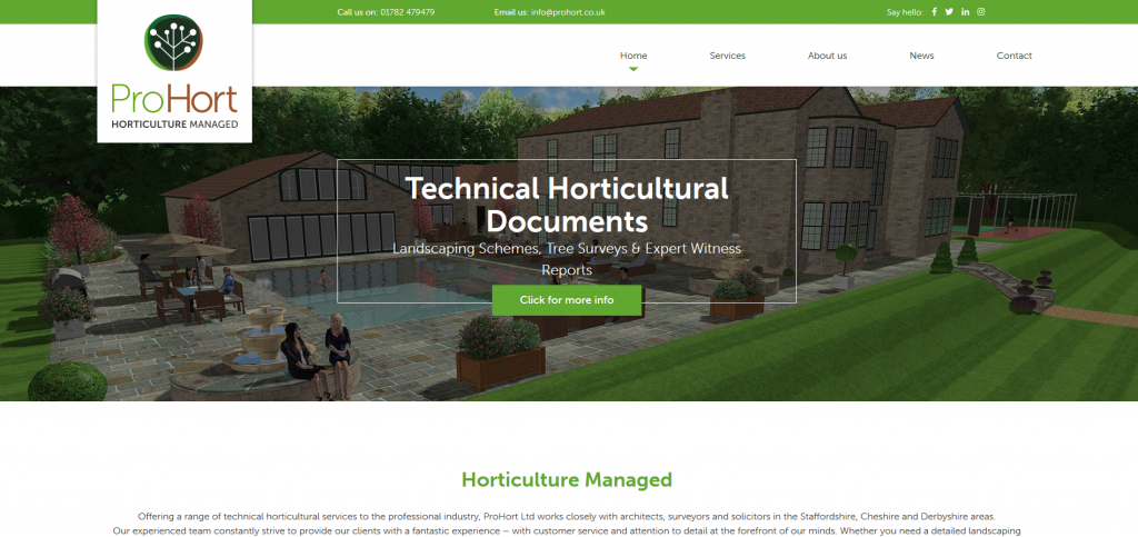 ProHort Website Launch - Horticulture Managed