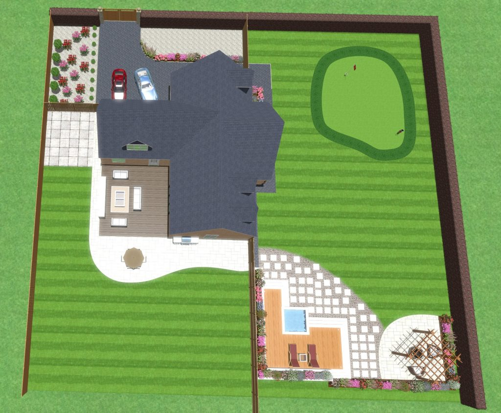 Landscaping Schemes Example