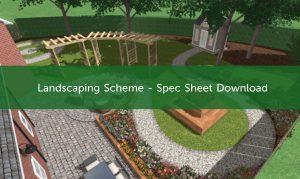 Landscaping Scheme Spec Sheet Download Image